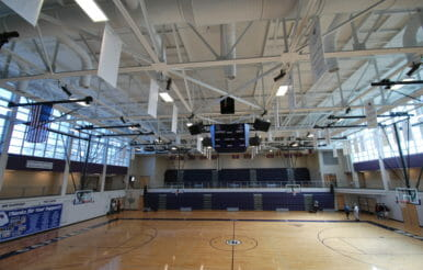 Broughton High School basket ball arena Renovation project.