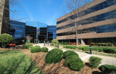 Completed construction of an office building in Greensboro