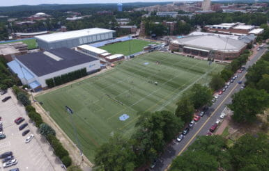 University of North Carolina Hooker athletic fields contracting.