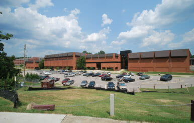 NCCU Athletic brick Complex.