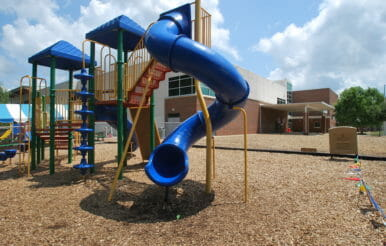 Kerr Family YMCA playground contracting project.