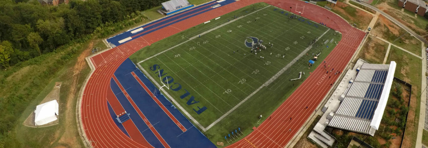 St. Augustine's University track and football field facility