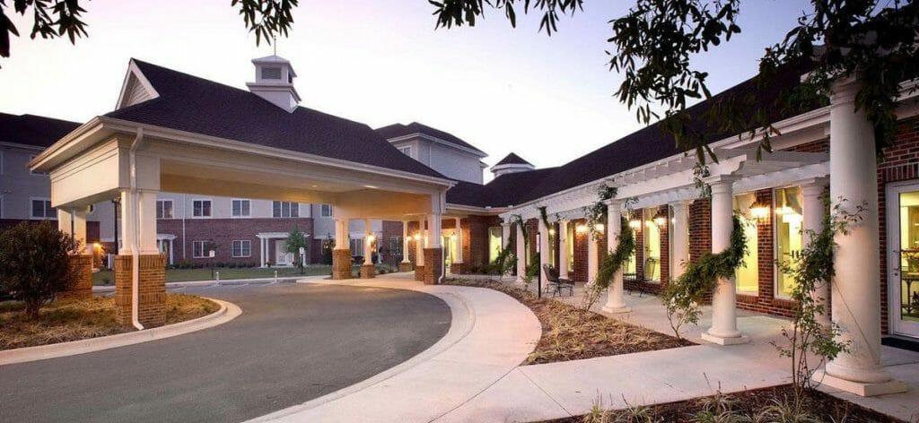 Cypress Glen retirement complex in Greenville