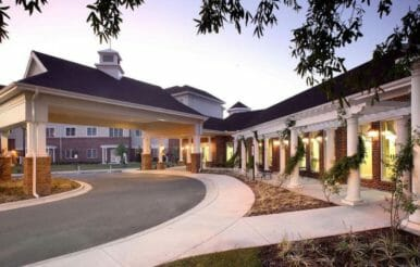 Cypress Glen retirement complex in Greenville