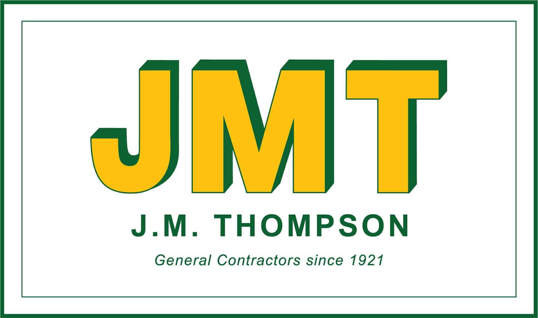 J.M. Thompson - General Contractors since 1921