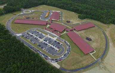Completed Benhaven elementary school project.