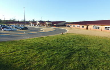 Newly designed and constructed Benhaven elementary school.