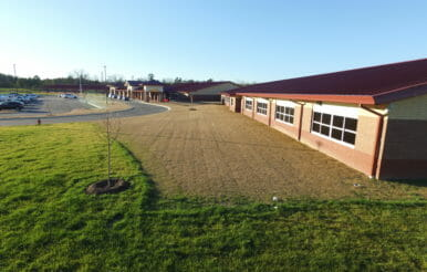 Completed Benhaven elementary school general contracting project.