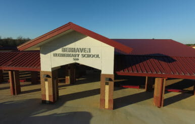 Benhaven elementary school construction project and design.