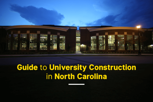 guide to university construction in north carolina