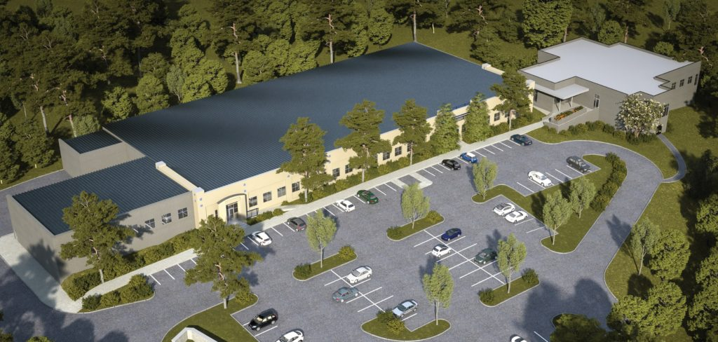 Healing Transiitons Women's Facility Raleigh Rendering